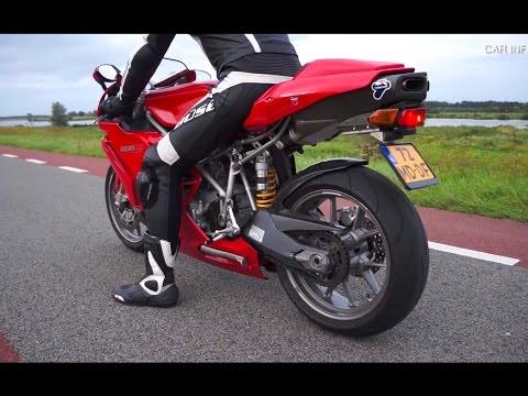 Ducati 999  - Termignoni exhaust sound!