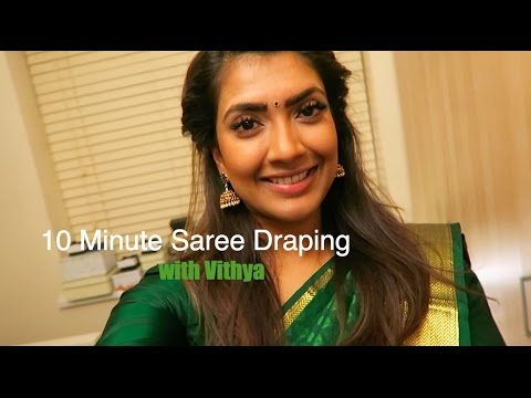 Xxx Mp4 10 Minute Saree Draping With Vithya 3gp Sex