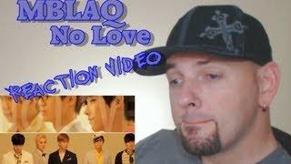 MBLAQ (엠블랙) - No Love Kpop MV Reaction (뮤직비디오)(리액션) Grissle Edition