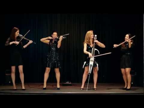 Palatine Electric String Quartet perform Palladio by Karl Jenkins