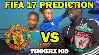 Manchester United vs Liverpool 2017   FIFA 17 Prediction!!
