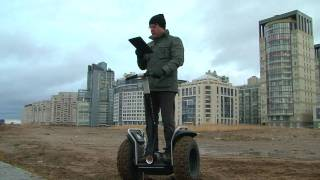 Segway x2 боевая колесница XXI века