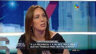 María Eugenia Vidal en