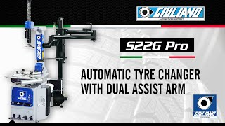 Automatic Tyre Changer With Dual Assist Arm S 226 Pro