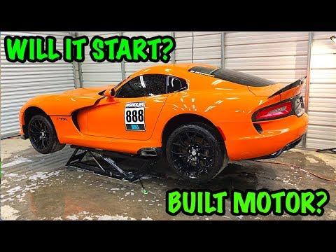 Xxx Mp4 Rebuilding A Wrecked 2014 Dodge Viper TA QuotTIME ATTACKquot PART 2 3gp Sex