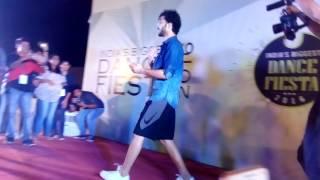 Raghav juyal ( crocroj ) 2016 live