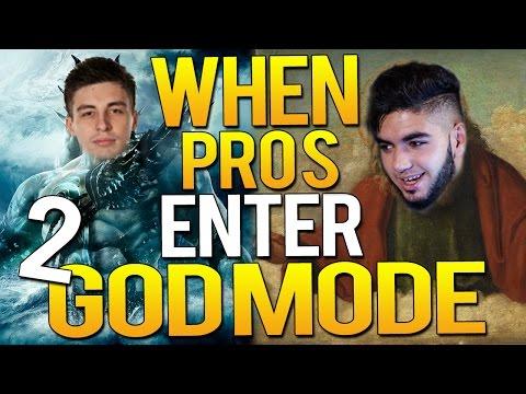 CS:GO - WHEN PRO PLAYERS ENTER GODMODE 2!(Crazy Vac shots, EPIC ACES)