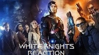 LEGENDS OF TOMORROW - 1X04 WHITE KNIGHTS REACTION