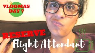Waiting on Crew Scheduling | VLOGMAS DAY 7, 2016 | Flight Attendant Life