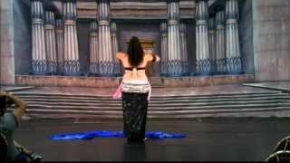 Kaotar - Cairo Caravan 2012 - Pregnant 6months Bellydance