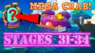Mega Crab Global #1: Stages 31-34 | Boom Beach | Live Stream Highlights!