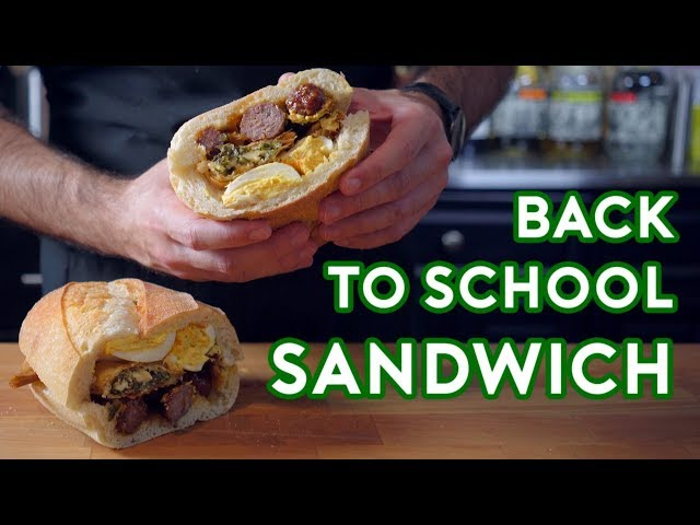 Binging with Babish: Hors D'oeuvres Sandwich from Back to School