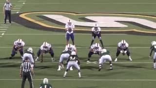 Southeastern 34, NWLA 24 (9/24/16 - 2nd Half Highlights)