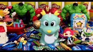 xxx SMILEY FACES with Surprise Toys Paw Patrol - CANDY SURPRISE TOYS Doraemon,Pirates of Caribbean