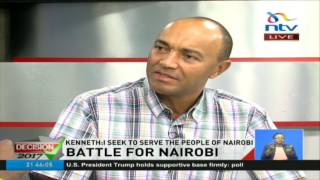 At the end of the elections it will not be come baby come it will be run baby run - Peter Kenneth