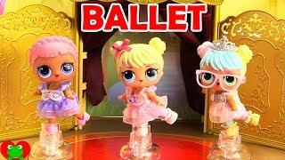 LOL Surprise Dolls Royal Ballet Performance