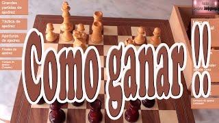 Brutal desviación. Como ganar en ajedrez