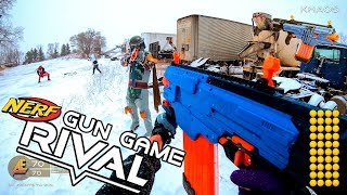 Nerf meets Call of Duty: Gun Game | RIVAL EDITION! (First Person in 4k!)