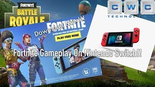 Fortnite on Nintendo Switch Gameplay - Download for FREE Today!