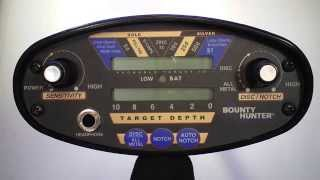 Bounty Hunter Pioneer 202 Metal Detector How To Operate and Instructional Video