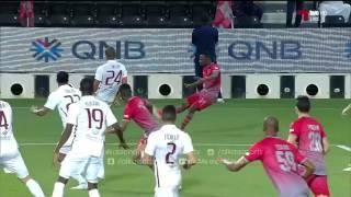 أهداف المباراة الجيش 3 - 2 لخويا كأس قطر 2017