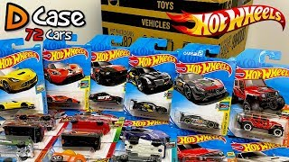 Unboxing Hot Wheels 2018 D Case 72 Car Assortment!