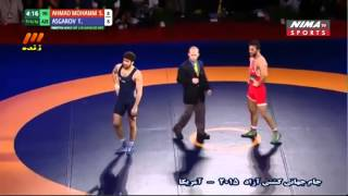 Iran vs Azerbaijan - 2015 Wrestling Freestyle World Cup in Los Angeles