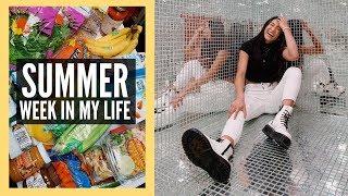 SUMMER WEEK IN MY LIFE | Healthy Reset + Huge Grocery Haul!