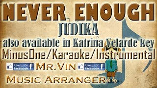 Never Enough - Judika - MinusOne/Karaoke/Instrumental HQ