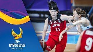 Korea v Japan - Full Game - Round of 16 - FIBA U19 Women's Basketball World Cup 2017