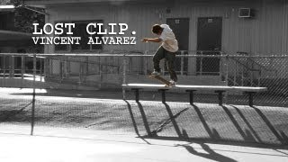 Vincent Alvarez Skateboarding Lost Clip #13 Pretty Sweet 7th Street Bench