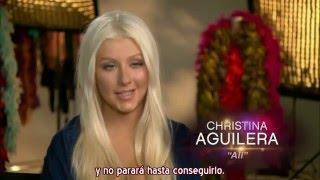 """Christina Aguilera - Detrás de Cámaras de """"Burlesque"""" (Subtítulos español)"""