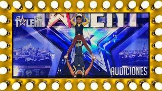 Arriesgan su vida por el pase de oro de Edurne | Audiciones 8 | Got Talent España 2018