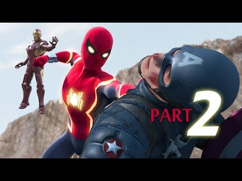 SPIDER MAN vs Captain America vs Iron Man Part 2 3