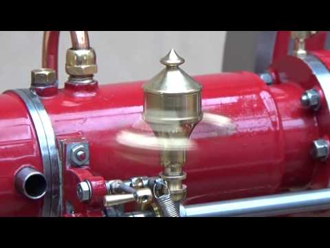 Cold Starting True Model Diesel Engine By Cranking Handle