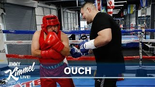 Guillermo Gets Andy Ruiz Jr. Ready for the Big Fight