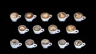 latte art techniques-Practicing Latte Art