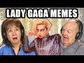 ELDERS REACT TO LADY GAGA MEMES | Super Bowl Halftime Show Performance