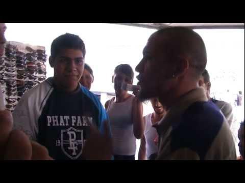 Batalla FreeStyle El Tren Lokote Vs. Tony Balazo en San Juan De Dios
