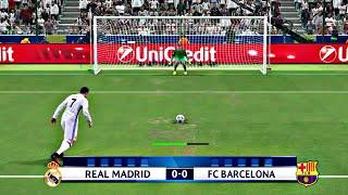 PES 2017 - Penalty Shootout [Barcelona Vs Real Madrid]