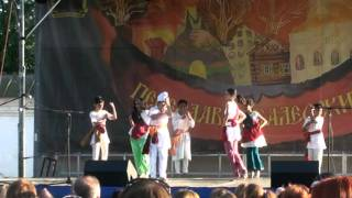 RAJESH SINGH IN MOSCOW 2011 HOLI DANCE