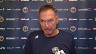 Twins manager Molitor says Slegers