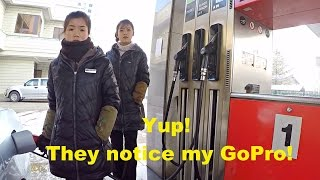 'The Beauty' of Petrol Station in Pyongyang, North Korea - Part 2