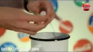 How to make Cola Cola & Fanta & Sprite Candle