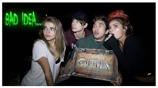 Oujia Board on the Beach... (DEMON CAUGHT)