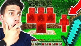 HOW TO SUMMON RED STEVE IN MINECRAFT!