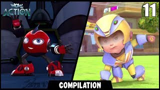 Vir: The Robot Boy & Rollbots | Compilation 11 | Action show for kids | WowKidz Action