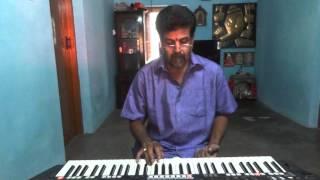 vasanthamallike,chandretten evideya song on keyboard