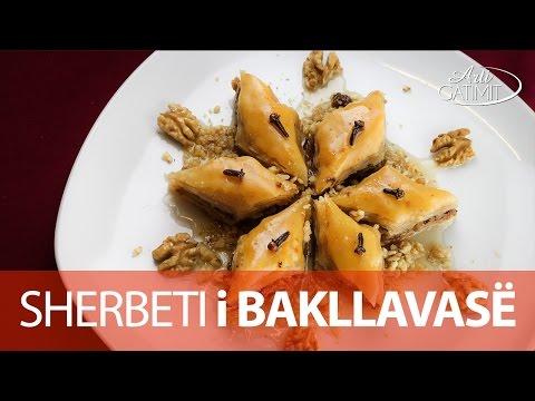 Sherbeti për Bakllava Shqiptare Turke Receta Gatimi