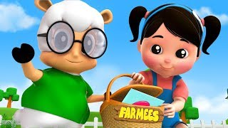A Tisket A Tasket | Kindergarten Nursery Rhymes by Farmees learning